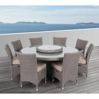 Ove Decors Habra Ii Outdoor 9 Piece Dining Set