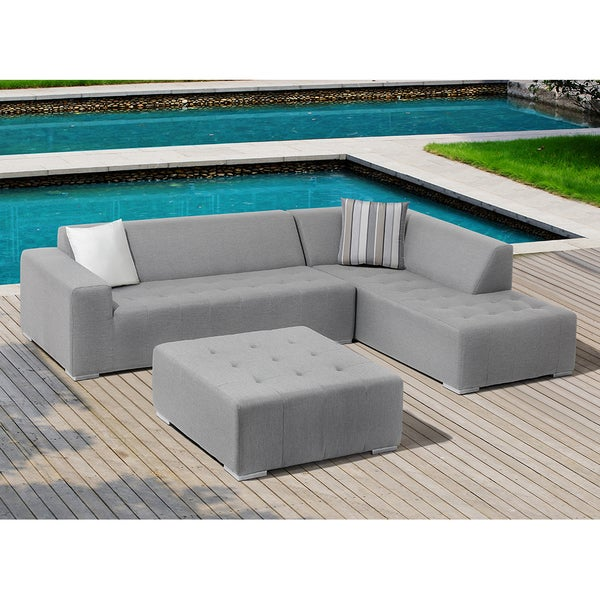 OVE Decors Eden Outdoor 3-Piece Sectional Patio Set - Shop OVE Decors Eden Outdoor 3-Piece Sectional Patio Set - Free