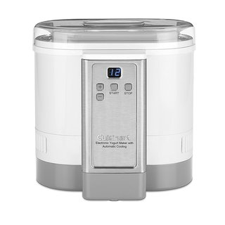 Cuisinart CYM-100 Electronic Yogurt Maker with Automatic Cooling 3.12lb Jar capacity (1.5L) (Refurbished)