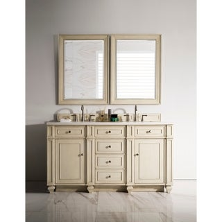 "Bristol 60"" Double Vanity, Vintage Vanilla (More options available)"