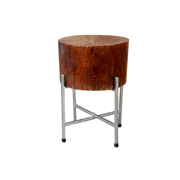 STAN Deep Mango Wood Accent Table