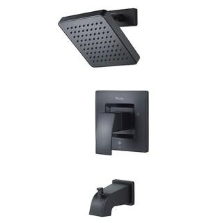 Pfister Kenzo 1-Handle Tub & Shower, Trim Only LG89-8DFB Black