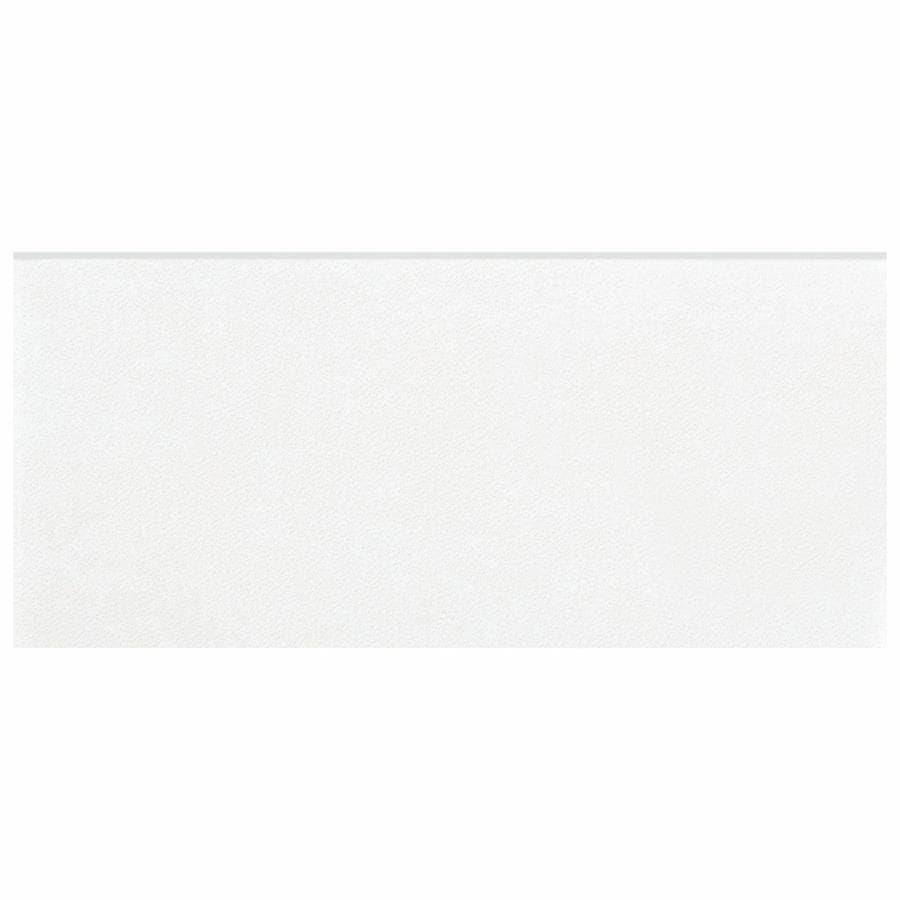 Somertile 3.5x7.75-inch Thirties White Ceramic Bullnose F...