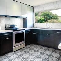 SomerTile 7.875x7.875-inch Cement Empress Ocean Cement Floor and Wall Tile (12 tiles/5.5 sqft.)