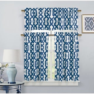 Duck River Ashmont Canvas Kitchen Curtain