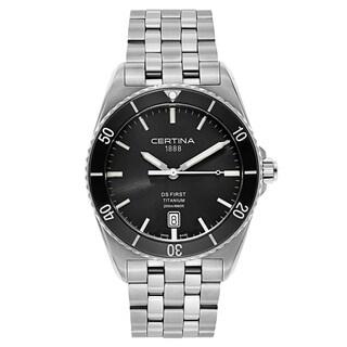 Certina DS Silver/ Grey Titanium Men's Watch