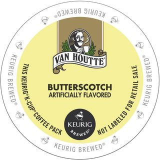 Van Houtte Butterscotch Coffee K-Cup Portion Pack for Keurig Brewers
