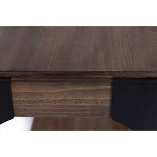 Sapphire Lakes Pine and Metal Sofa Table