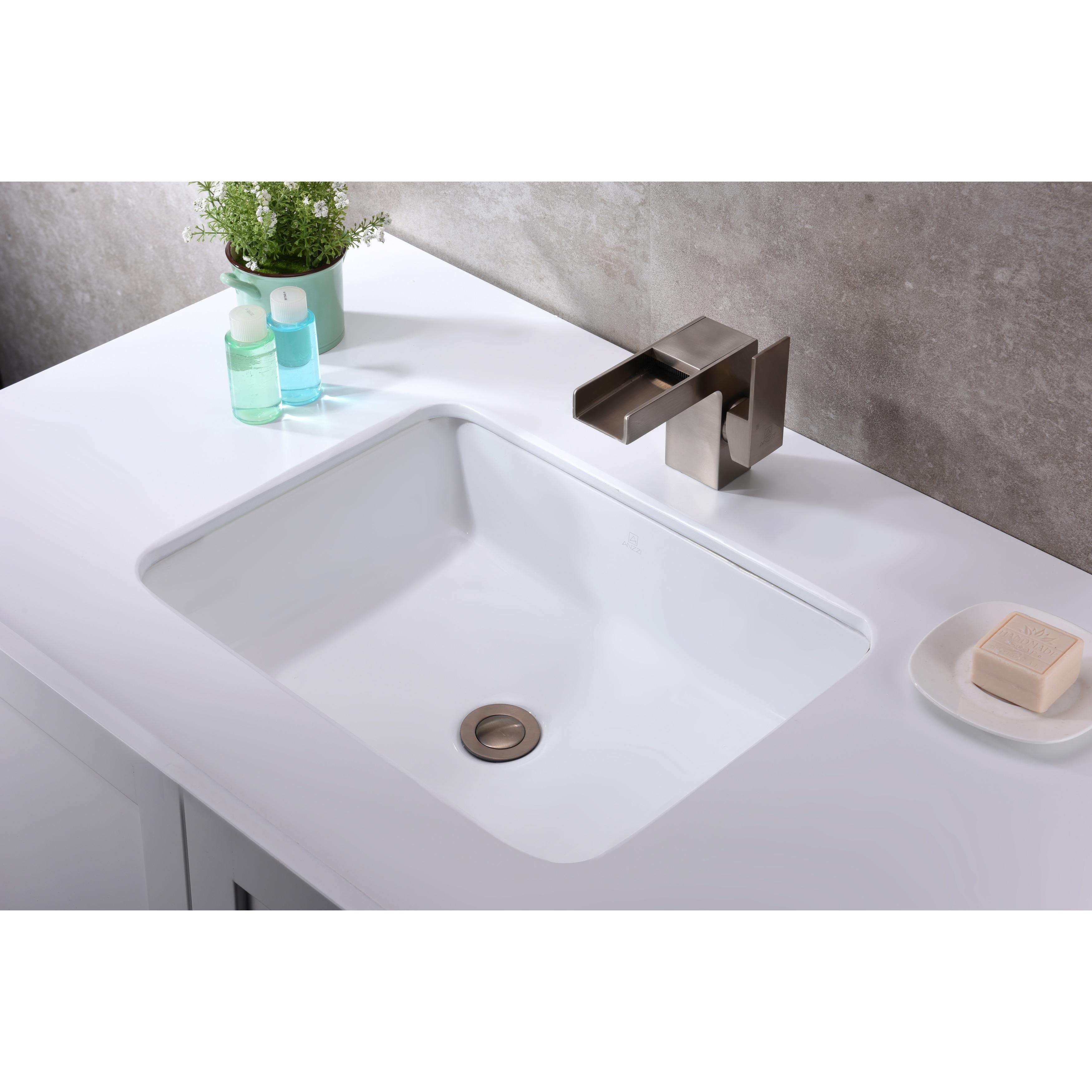 Ceramic Undermount Sink Basin