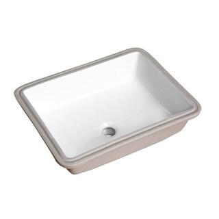 Link to ANZZI Dahlia 19.5 in. Ceramic Undermount Sink Basin in White Similar Items in Sinks