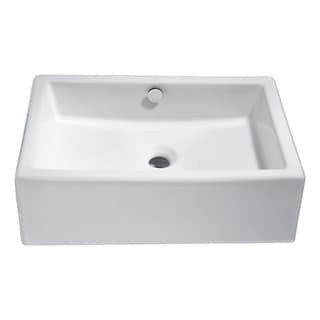 Link to Deux Series Ceramic Vessel Sink in White Similar Items in Sinks