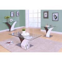 Acme Furniture Forest Glass End Table
