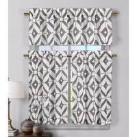 Duck River Mckenna Linen Kitchen Curtain Tier - 29 x 36