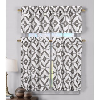 Duck River Mckenna Linen Kitchen Curtain Tier - 29 x 36 (4 options available)