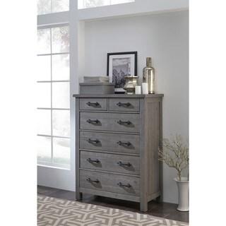 Austin Rustic Grey Wood 6-Drawer Chest