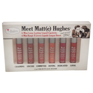 theBalm Meet Matte Hughes Mini Long-Lasting Liquid Lipsticks Set
