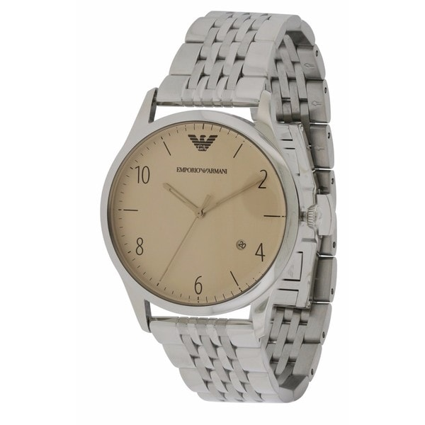 94c13e1a39 Emporio Armani Men's Stainless Steel AR1881 Classic Watch