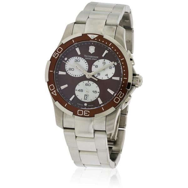 Shop Swiss Army Victorinox Alliance Women s Stainless Steel Chronograph  Watch - Free Shipping Today - Overstock - 14492603 4c4dea030b