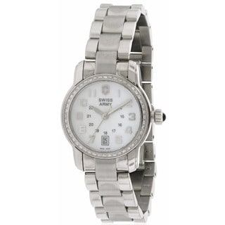 Swiss Army Victorinox Vivante Stainless Steel and Diamond Women's Watch