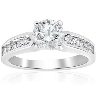 14k White Gold 1 ct TDW Diamond Engagement Ring
