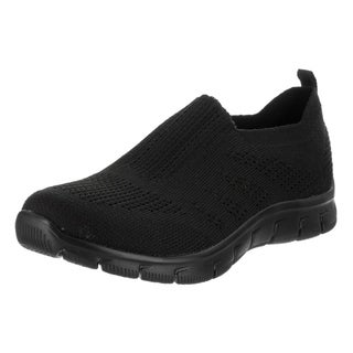 Women's Skechers Empire Inside Look Slip-On Sneaker Black/Black