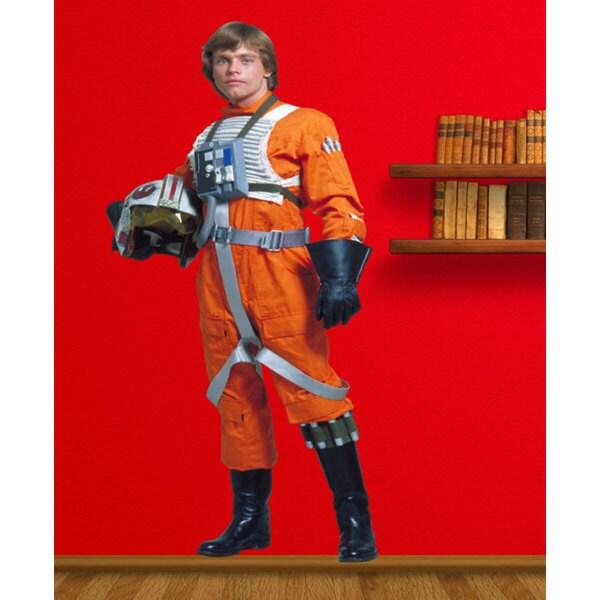 Full Color Luke Skywalker Full Color Decal, Star Wars Full Color Sticker, Sticker Decal size 33x52