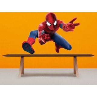Full Color Spiderman Full Color Decal, Spiderman Full color sticker, Spiderman wall Sticker Decal si