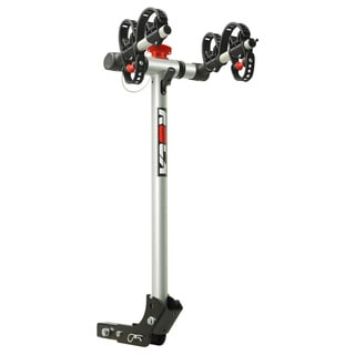 "ROLA®, TX-102 Bike Carrier, 2 Bike, 1-1/4"" Sq. or 2"" Sq. Receiver Mount, Folding Dual Arm Rail Rack w/Tilt Function"