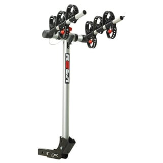 "ROLA®, TX-103 Bike Carrier, 3 Bike, 1-1/4"" Sq. or 2"" Sq. Receiver Mount, Folding Dual Arm Rail Rack w/Tilt Function"