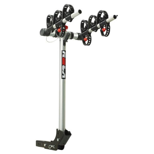"ROLA®, TX-103 Bike Carrier, 3 Bike, 1-1/4"" Sq. or 2"" Sq. Receiver Mount, Folding Dual Arm Rail Rack w/Tilt Function"