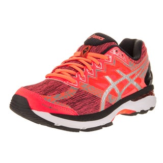 Asics Women's GT-2000 4 Lite-Show Plasma Guard Orange Synthetic Leather Running Shoe