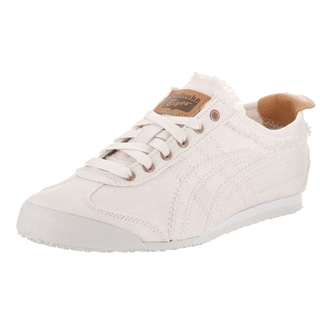 Onitsuka Tiger Unisex Mexico 66 Beige Textile Casual Shoe