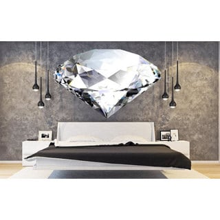 Full Color Diamond Full Color Decal, Diamond Full color sticker, Diamond wall art Sticker Decal size 48x65