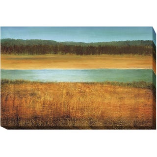 """""""Riverside"""" by Caroline Gold Gallery-Wrapped Canvas Giclee Wall Art"""