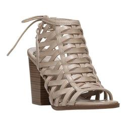 Women's Fergalicious Vizion Caged Sandal Nude Synthetic