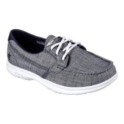 Women's Skechers GO STEP Marina Boat Shoe Navy