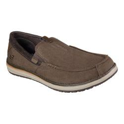 Men's Skechers Melson Valerio Moccasin Chocolate