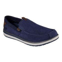 Men's Skechers Melson Valerio Moccasin Navy