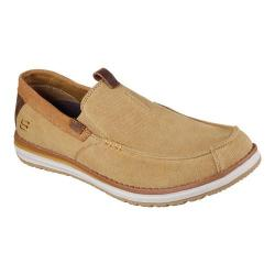 Men's Skechers Melson Valerio Moccasin Tan