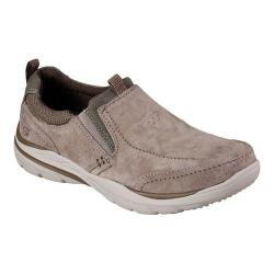 Men's Skechers Relaxed Fit Corven Espino Slip-On Taupe