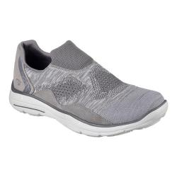 Men's Skechers Relaxed Fit Glides Elten Walking Shoe Gray