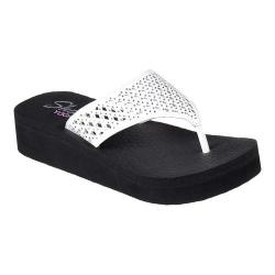 Women's Skechers Vinyasa Flow Flip-Flop White