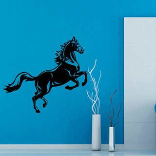 Mustang Stickers Animals Interior Home Decor Kids Wall Decor Vinyl Sticker Art Nursery Room Sticker