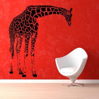 Animals Vinyl Sticker Giraffe Decal Decor Home Jungle Art Mural Safari Decals Nursery Decor Sticker