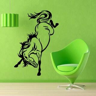 Mustang Stickers Animals Interior Home Decor Kids Decor Vinyl Sticker Wall Art Nursery Room Sticker