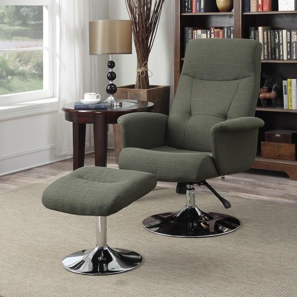 Shop Handy Living Dahna Basil Green Linen Chair And
