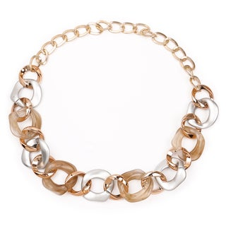 Liliana Bella Gold-plated Chunky Fashion Link Necklace