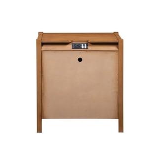 Linwood 3-drawer Oak Nightstand