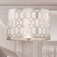 Crystorama Libby Langdon Jennings Collection 5-light Polished Nickel Chandelier