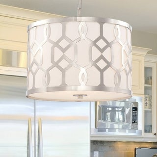 Crystorama Libby Langdon Jennings Collection 3-light Polished Nickel Chandelier